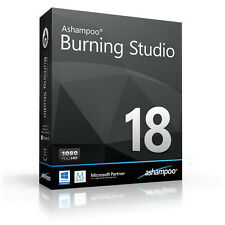 Ashampoo Burning Studio 18 dt.Vollversion ESD Download 25,99 statt 49,99 EUR UVP