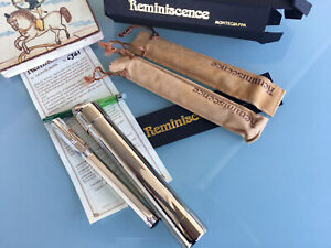 MONTEGRAPPA REMINISCENCE STERLING SILVER FOUNTAIN PEN BOXED* NEW CONDITION *