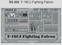 Eduard 1/72 F-16CJ Fighting Falcon PRE-PAINTED IN COLOUR! # SS20