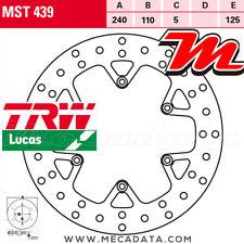 Disque de frein Arrière TRW MST 439 KTM LC4 690 SM, SMC, SM-LE (KTM LC-4) 2007+