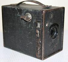 Agfa Preis Box Roll Film Camera 1932 - Meniscus Lens - Black
