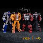 NEW Transformed Menasor Dragstrip Wildrider Sports Car Robot Figures Set of 2