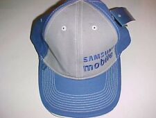 Samsung Mobile Prestige Adult Unisex Blue Gray Baseball Cap Hat One Size New