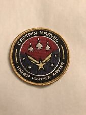 Disney Captain Marvel Embroidered Patch.