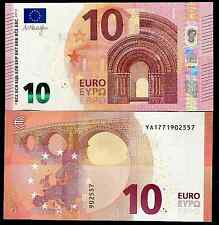 NEW !! GREECE 10 EUROS 2014  DRAGHI - Y PREFFIX (A SERIE), Y001E3  PRINTER- UNC