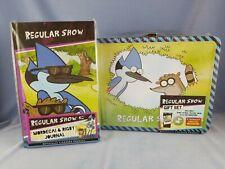 Cartoon Network Regular Show Tin Tote Gift Set and Mordecai & Rigby Journal