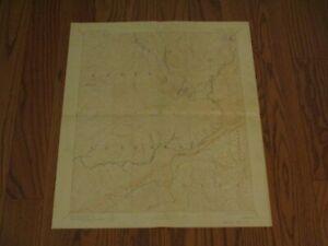 Original Antique 1910 USGS Topo Map Survey Kentucky Virginia Whitesburg