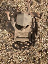 Vintage McCormick Deering Sickle Stone Grinder Sharpener