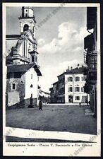 NOVARA CARPIGNANO SESIA 23 Cartolina 1940 viaggiata Foto PIRAZZI