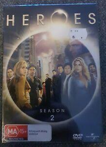 Heroes : Season 2 Dvd Brand New Sealed