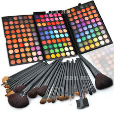 New 180 Colors Eyeshadow Palette + 32Pcs Makeup Brushes Shimmer Cosmetic Set AU