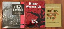 First Edition World War II Hardcover Books The History of Germany under Hilter