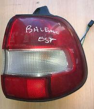 SUZUKI BALENO GENUINE O/S RIGHT HAND DRIVER SIDE REAR TAILLIGHT