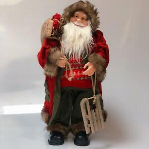 Large Traditional Father Christmas Santa Claus Figure Xmas Dancing - 3 Styles !