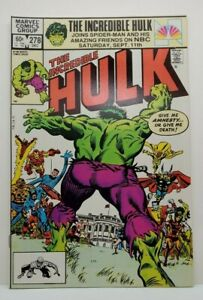 Incredible Hulk #278 1st SHE-HULK crossover (1982) NM-/NM