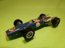 DINKY TOYS 1417 MATRA V12 F1 - No 17 BLUE 1:43 - VERY GOOD CONDITION