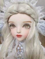 60cm Puppen 1/3 Kugelgelenk BJD Girl Doll Kleidung Komplettes Set Outfit Make-up