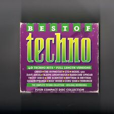 Best Of Techno - 4CD BOX - TECHNO ACID
