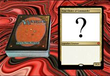 EDH DECK WITH A COMMANDER OF YOUR CHOICE - MTG, Magic