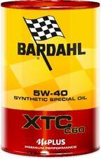 Olio Motore Auto Bardahl XTC C60 5W40 100% Sintetico ACEA A3-B4 - 2 litri lt