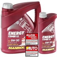 6 Liter 5w-30 MANNOL Energy Combi LL VW 504.00 507 MB 229.51 BMW LL-04 ACEA API
