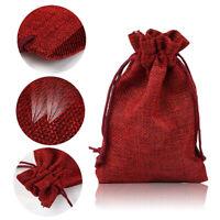 Adventskalender zum Befüllen 20 Geschenktüten Stoffsäckchen Jute Sack Säckchen