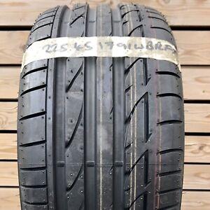 225 45 17 91W Bridgestone Potenza S001 * BMW Tyre RFT RSC 225/45R17 Runflat New