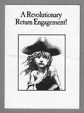 "Cameron Mackintosh ""LES MISERABLES"" Boublil and Schonberg 1990 Boston Invitation"