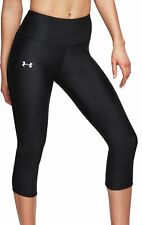 Under Armour Fly Fast Womens 3/4 Capri Running Tights - Black