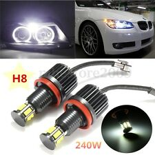 H8 120W LED Angel Eyes Marker Halo Light FOR BMW E82 E90 E92 E60 E61 E63 E89 X6