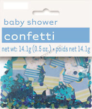 Baby Boy Blue Baby Shower Foil Paper Table Scatters Confetti Party Decoration