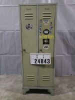 Spind Umkleidespind Kleiderschrank Retro Vintage Loft Industrie Design #24843
