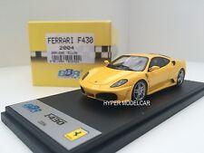 BBR Model 1/43 Ferrari F430 2004 Yellow Art. BBR164B