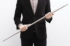 APPEARING CANE PROFESSIONAL MAGIC TRICK SILVER METAL GREAT QUALITY & FAST!!!