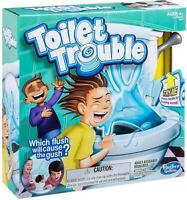 Hasbro Gaming - Toilet Trouble [New ] Table Top Game