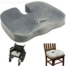 Orthopedic Pillow Seat Cushion Chair Back Lumbar Support Truck Car Pad Spinal