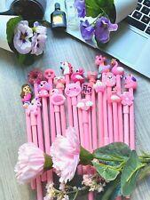 20pcs/set Cute Gel Pen Black Ink- Stationery School Office Supply