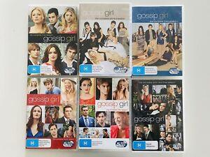 Gossip Girl DVD Complete Series Seasons 1 2 3 4 5 6 R4 Free Postage