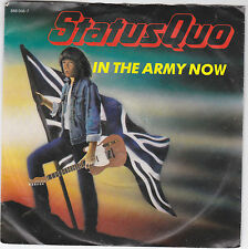 """Single 7"""" - Status Quo """"In the Army now // Heartburn"""""""