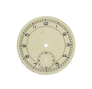 altes Zifferblatt f Taschenuhr TASCHENUHRZIFFERBLATT pocket watch dial