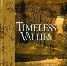 Timeless Values (2002, Hardcover) GREAT BOOK GIFT WORTHY