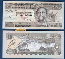 Ethiopie - 1 Birr 1969 1976 Neuf Unc - Ethiopia