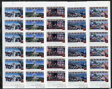 Weeda Canada BK285, 287, 293-295 VF 2004 49c Tourist Attractions booklets CV $35