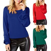 INC NEW Women's Balloon-Sleeve Blouse Shirt Top TEDO