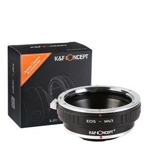 K&F Concept adapter for Canon EOS EF FE S mount lens to Micro 4/3 Mount Adapter