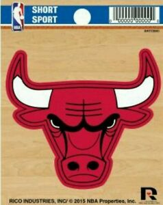 Chicago Bulls Die Cut Decal from Rico