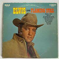 Elvis Presley Sings Flaming Star: RCA 1969 Vinyl LP Stereo (Rock & Roll)