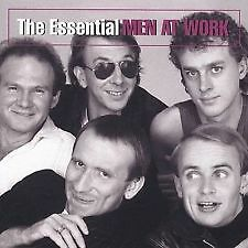 MEN AT WORK - THE ESSENTIAL - AUSSIE POP - BRAND NEW AND SEALED CD