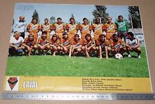 CLIPPING POSTER FOOTBALL 1980-1981 STADE LAVALLOIS LAVAL TANGOS LE BASSER