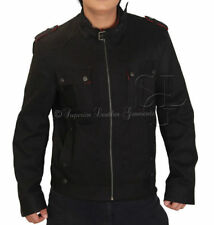 Cotton Biker Jackets for Men